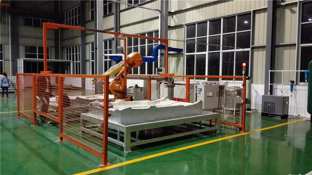 常州三维机器人水切割的工作原理